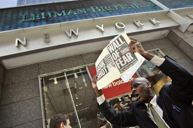 9th anniversary of Lehman Brothers bankruptcy and Indian banking