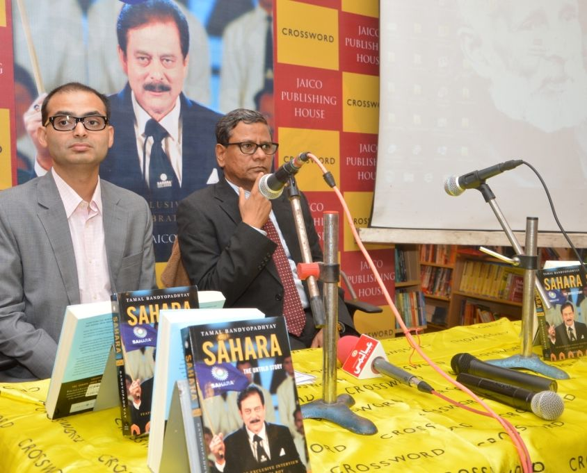 Sahara book launch in lucknow